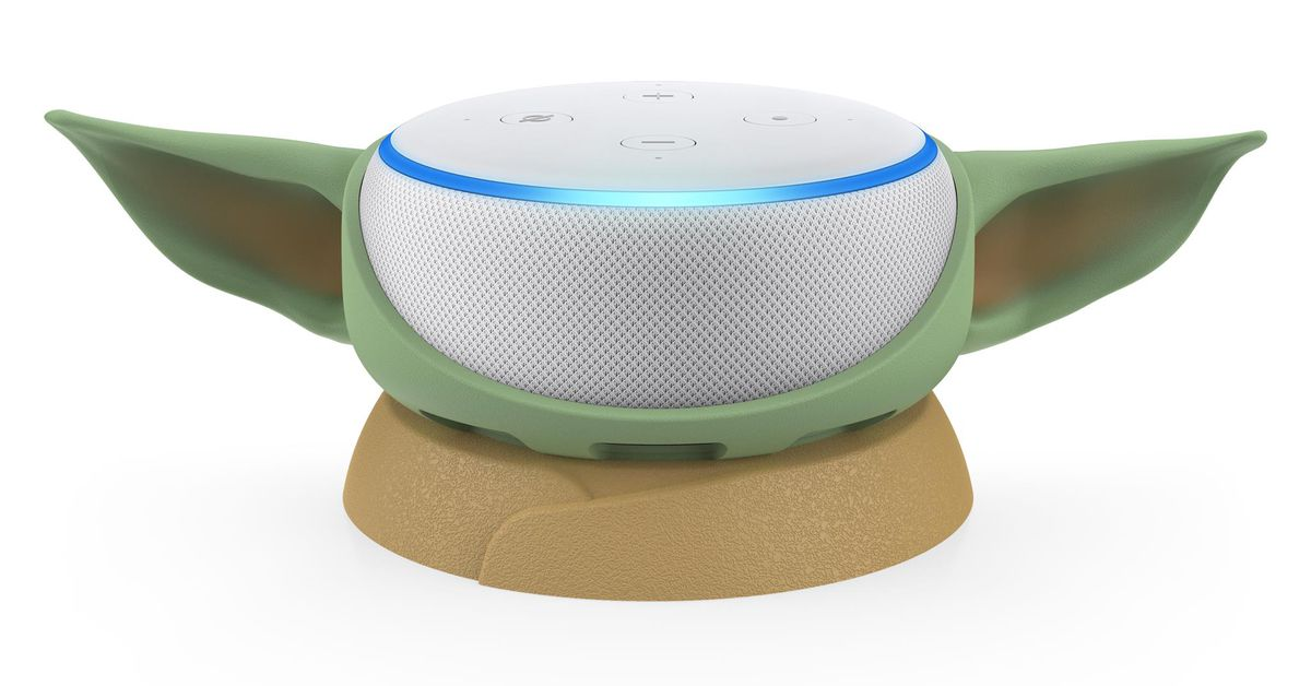 Who wouldn 't want their Echo Dot to look like Baby Yoda?